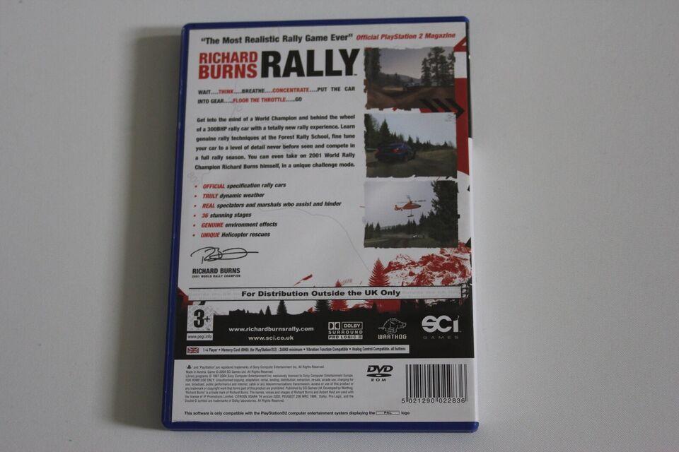Richard Burns Rally, PS2, racing