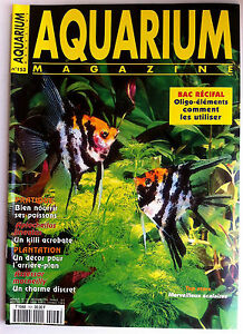 Initiative Aquarium Magazine N°153 - Guide Pratique; Bien Nourrir Ses Poissons/ Plantation Limpide à Vue