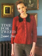 Debbie Bliss - Time for Tweed - Pattern Book - Dept Store Return