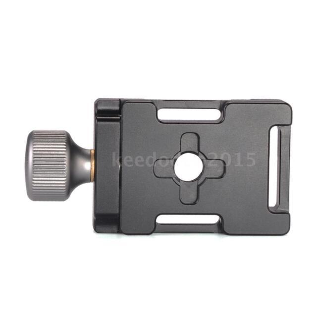 Andoer 38mm Aluminum Screw Knob Mini Quick Release Clamp For Arca Swiss QR Plate