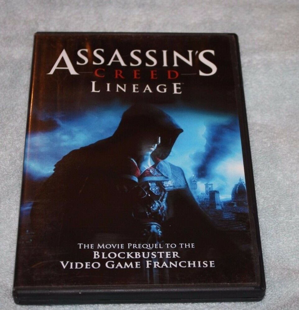 Dvd Assassins Creed Lineage For Sale Online Ebay