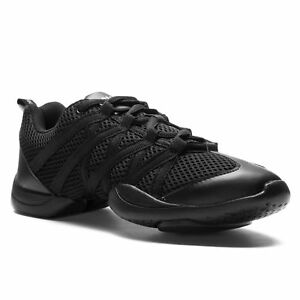 size 40 5bd02 663b1 Details zu Bloch S0524 Criss Cross Tanz Jazz Sport Sneaker Fitness Aerobic  Schuhe schwarz