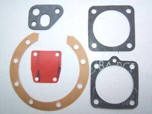 (s01) Solex Velosolex Pochette 4 Joints + Membrane 1400/5000 - Made In France