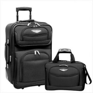 be232d1be94 Travelers Choice TS6902G Amsterdam 2 Piece Carry-On Luggage Set in ...