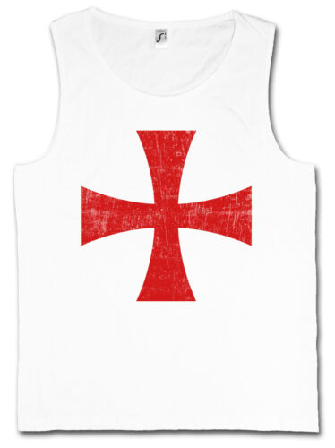 Templar Cross I Gym tank top rouge templiers ordre croix templiers Orden Ordo red