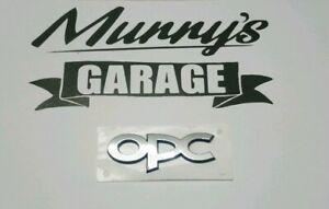 Details Zu Original Opel Opc Schriftzug Emblem Aufkleber Hinten Gm 5177438 93187159