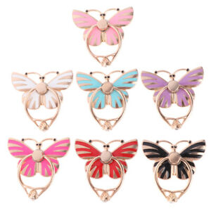 1Pc-Universal-metal-butterfly-mobile-phone-holder-stand-360-finger-ring-brPTH