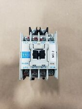 x2 Mitsubishi Electric 200-220VAC Coil 13A Continuous Magnetic Contactor S-N10