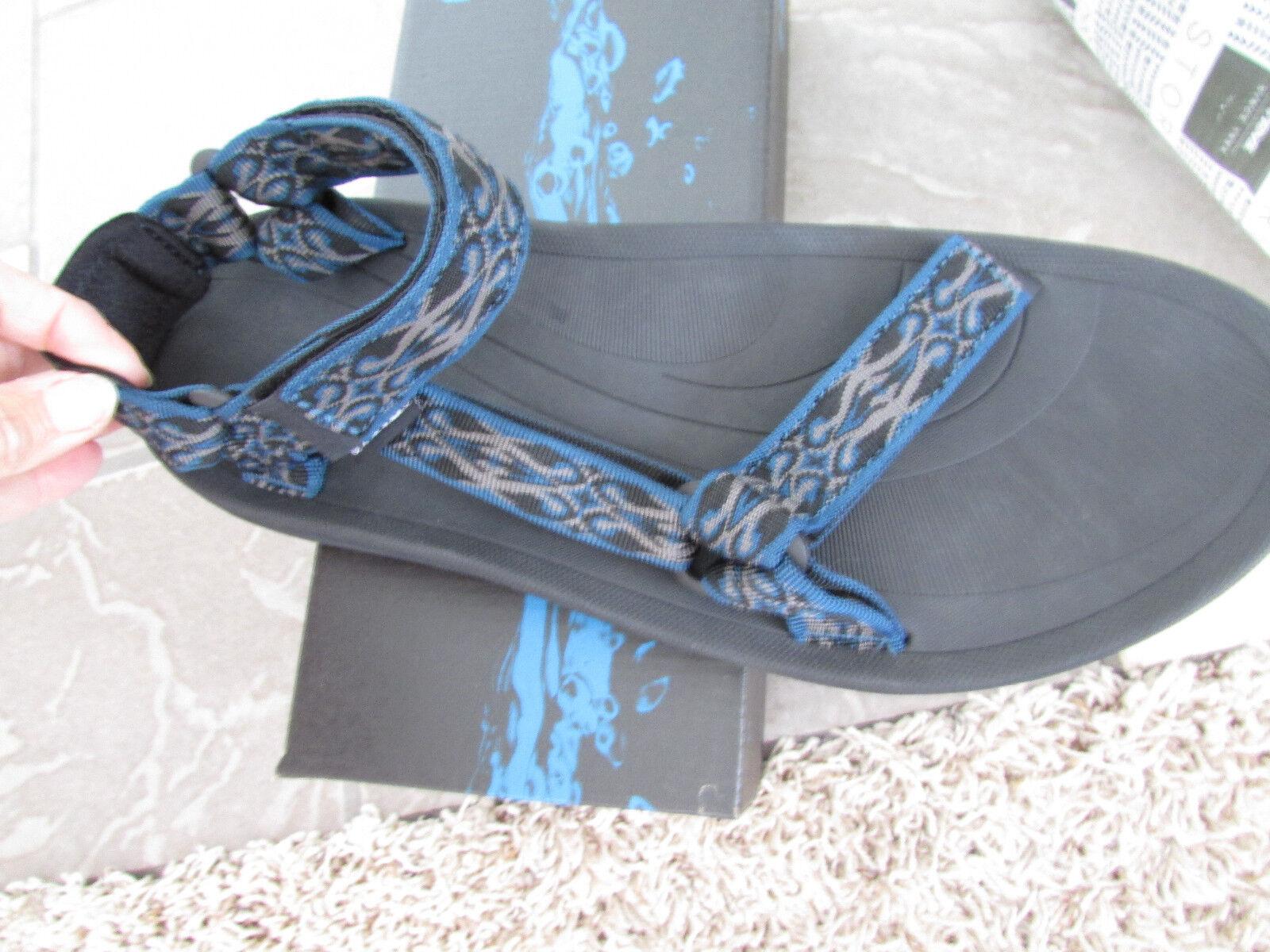NEW TEVA M TORIN blueE SANDALS MENS 14 HIKING BIKING TRAIL SANDALS