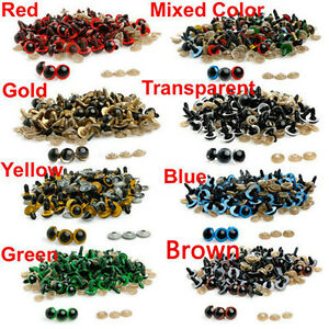 100x-8-20mm-Plastic-Safety-Eyes-for-Teddy-Bear-Doll-Animal-Puppet-Craft-Splendid