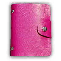 1pc 24 Cards PU Leather Unisex Credit ID Business Card Holder Pocket Wallet Case