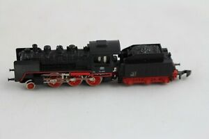 8803 Locomotive À Vapeur Avec Tender Br 24 058 Märklin Échelle Z