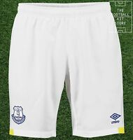 Everton Home Shorts - Genuine Umbro Efc Football Shorts - Mens - M / L