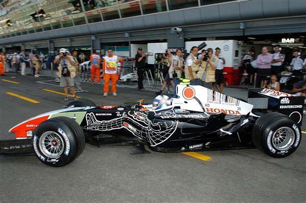 TAMEO Model Kits 1 43 SLK083 Anthony Davidson BAR  Honda 006 Formula 1 Model Kit  très populaire