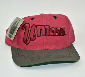 UMass-Minutemen-NCAA-Nu-Image-Vintage-90-039-s-Snapback-Cap-Hat-NWT