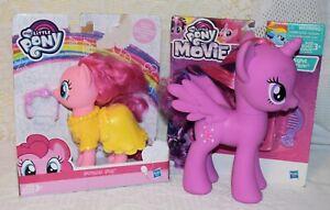 My Little Pony The Movie Twilight Sparkle, and Pinkie Pie NIB