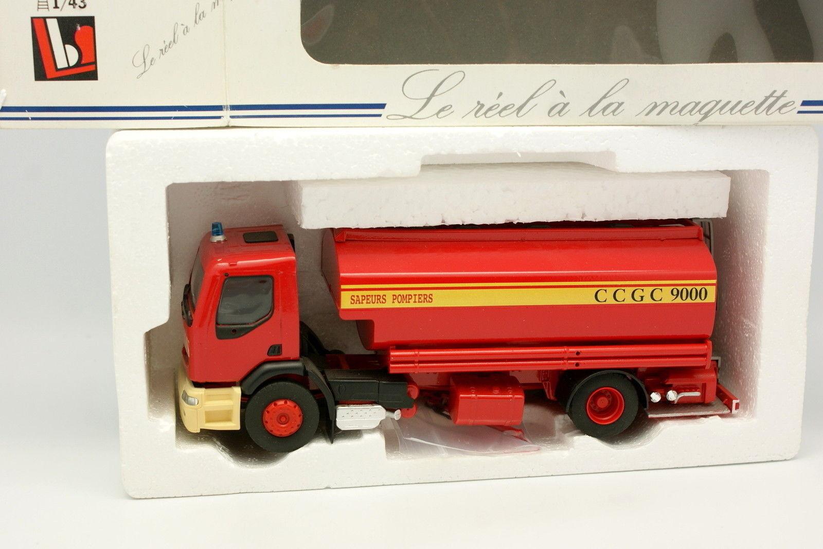Eligor LBS 1 43 - Renault Premium Citerne Grande Capacité Pompiers