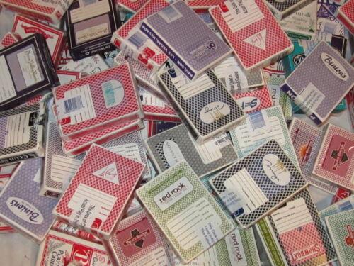 Nevada Or Atlantic City! 5 Random Las Vegas Casino Used Playing Cards Deck