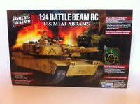 Forces Of Valor Unimax 1:24 Remote Control U.s. M1a1 Abrams Tank