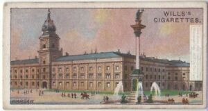 Royal-Palace-Warsaw-Poland-100-Y-O-Ad-Trade-Card