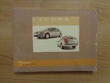 Renault Laguna Owners Handbook/Manual 05-07