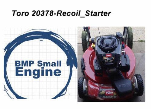ispacegoa.com Starter Recoil Assy For Toro 20378 Lawn Mower 22 ...