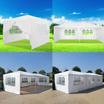 3x3m Gazebo120g Waterproof Outdoor PE Garden Gazebo Marquee Canopy Party Tent