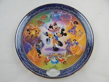 Bradford Exchange Disney Enchanted Dance Collector Plate