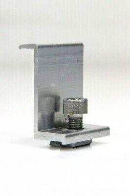 50 Mm Modul Endklemme Aluminium Painstaking 2 Stück Höhe 50 Mm Solar Pv Photovoltaik