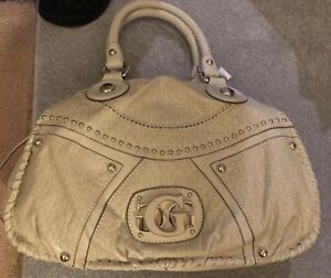 Details about Guess Cream Beige Embellished