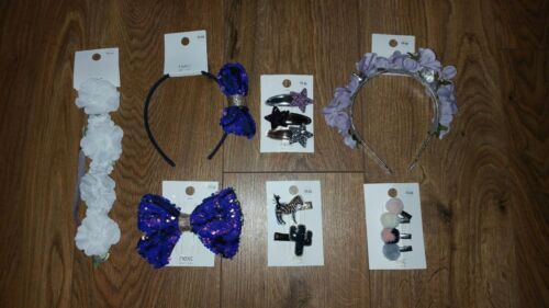 Bundle G NEXT girls hair accessories 75/% off RRP party bags