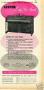 photograph about Betsy Ross Printable Pictures named Information in excess of 1949 Lester Piano Producing Co Betsy Ross Spinet Print Advert