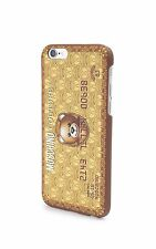 100% AUTHENTIC Moschino Couture Jeremy Scott Gold Bear Credit Card iPhone 6+Case
