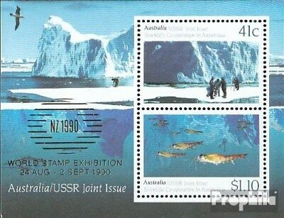 Faithful Australia Block11i (complete.issue.) Unmounted Mint / Never Hinged 1990 Antarcti At Any Cost