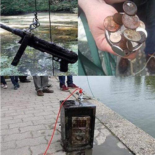 Powerful Round Neodymium Magnet Hook Metal Detector Strong Sea Fishing Hunting