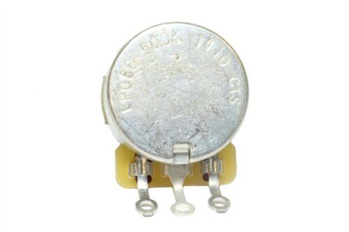 CTS 500K Split Shaft Audio Taper Potentiometer Pot US Fine Spline