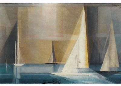Edmund Collein Bauatelier Gropius 1929 Dessau Postkarte
