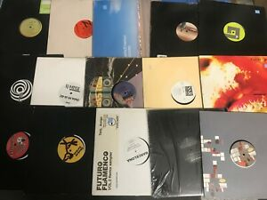 Lot-of-DJ-House-Trance-Electronic-EDM-6-Records-Dance-EP-Singles-Mix-Vinyl-NM