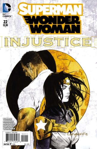 Superman Wonder Woman #22 Comic Book 2015 DC