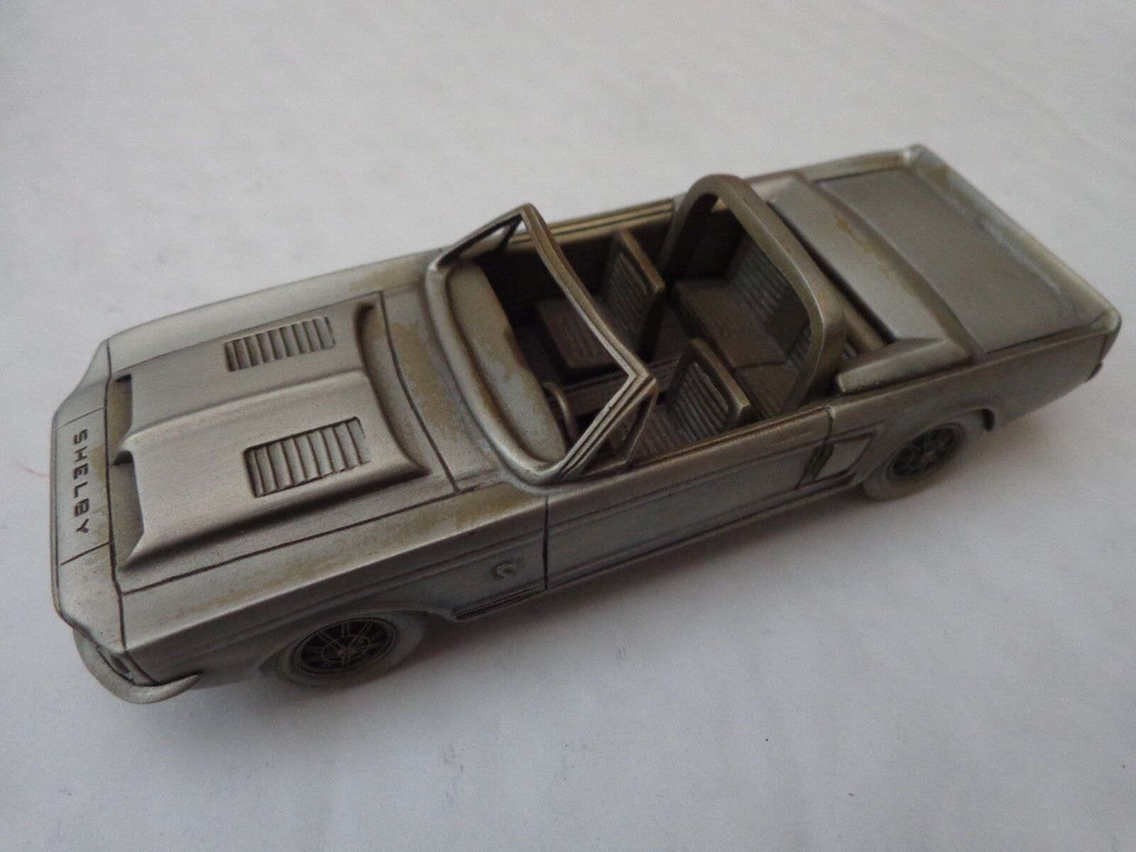 DANBURY MINT 1 43 CLASSIC 1968 SHELBY MUSTANG GT350 PEWTER MODEL CAR