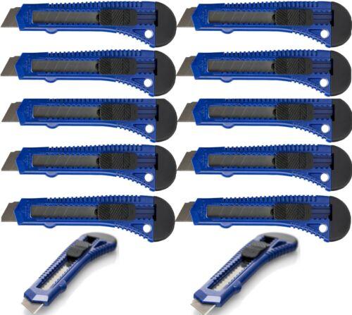 24 Stück Cutter Cuttermesser 18 mm Teppichmesser  Paketmesser Kartonmesser DHL!