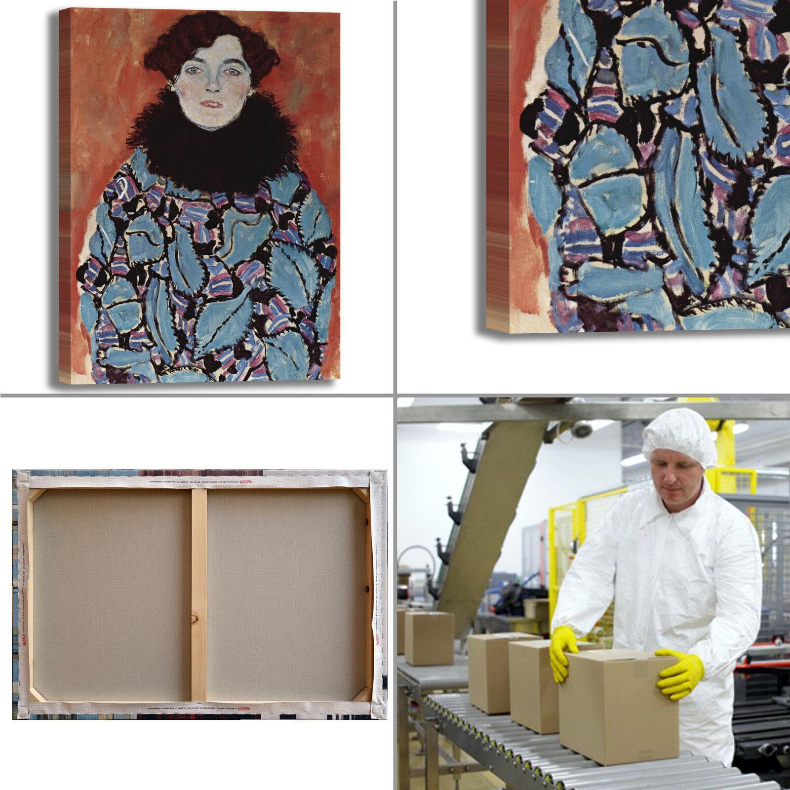Gustav Klimt arRouge Johanna Staude design quadro stampa tela dipinto telaio arRouge Klimt o casa bbf012