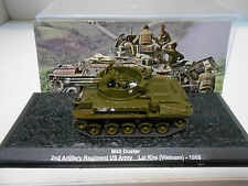 M42 DUSTER 2ND ARTILLERY REG US ARMY VIETNAM 1969 #37 MILITARY DeAGOSTINI 1:72
