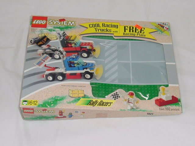 Lego Town Classic Town Race 1821 Rally Racer  New Sealed - Boys Girls 1996'