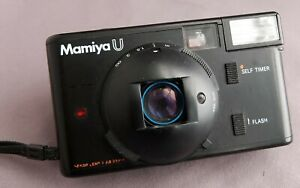 Vintage-Mamiya-U-35mm-point-and-shoot-film-camera-all-working-well