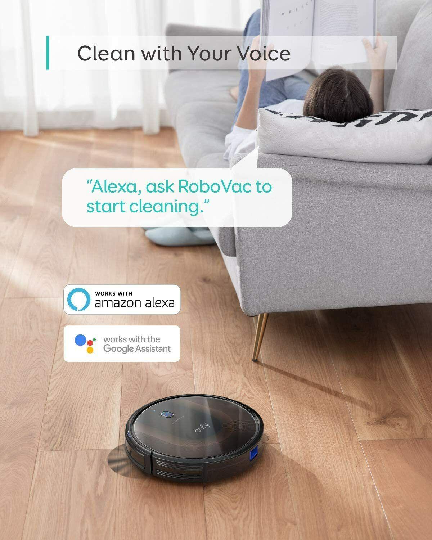 eufy by Anker BoostIQ RoboVac 30C Robot Vacuum Cleaner Wi-Fi Super-Thin