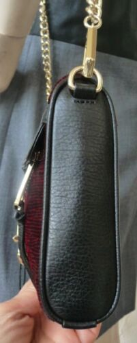 NWT Rebecca Minkoff Mini Mac handbag purse in crimson Retail $245