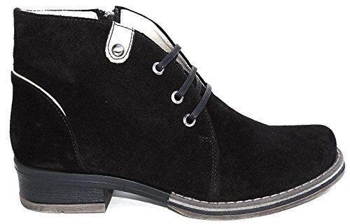 Zapatos de ancho OGS Gianna Suave Gamuza botas De De De 3E de ancho  precios al por mayor