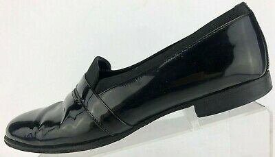 Mens Classic style Patent leather tuxedo shoes  12M NEW