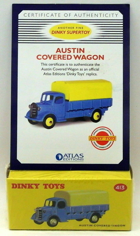 Atlas Editions Dinky Toys 413 - Austin Covered Covered Covered Wagon - Mint In Mint Box b8c690